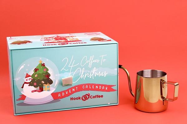 COMBO 2 - Advent Calendar & Gooseneck Kettle | - Hook Coffee