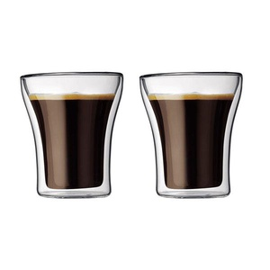 BODUM ASSAM Double Wall Glass (8oz x 2)