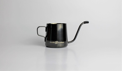Baby Gooseneck Kettle (Metallic Black)